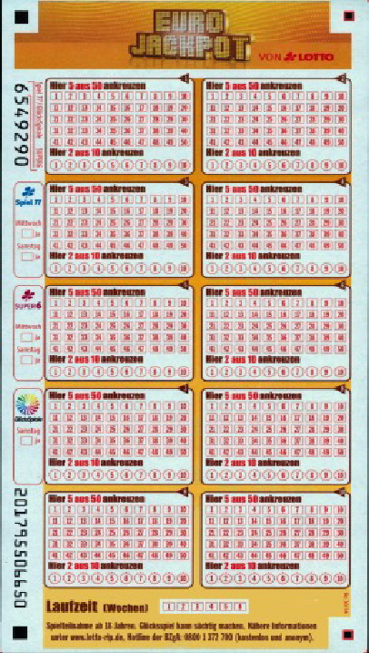 Eurolotto Zahlen Quoten